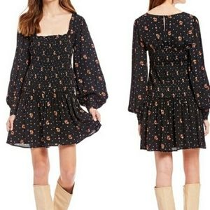 NWT- Free People Two Faces Mini Dress